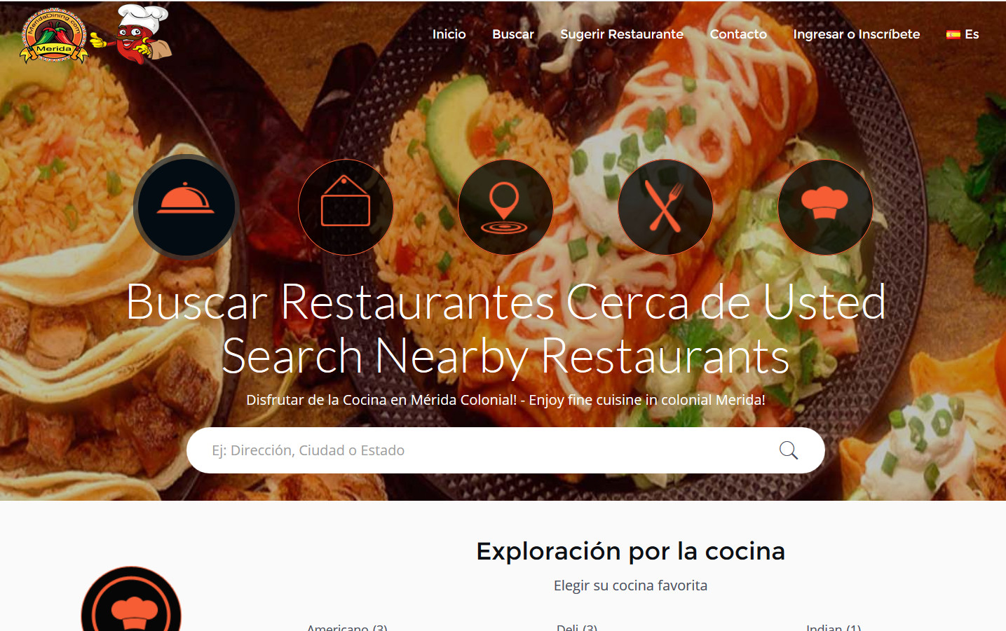 Merida Dining Booking