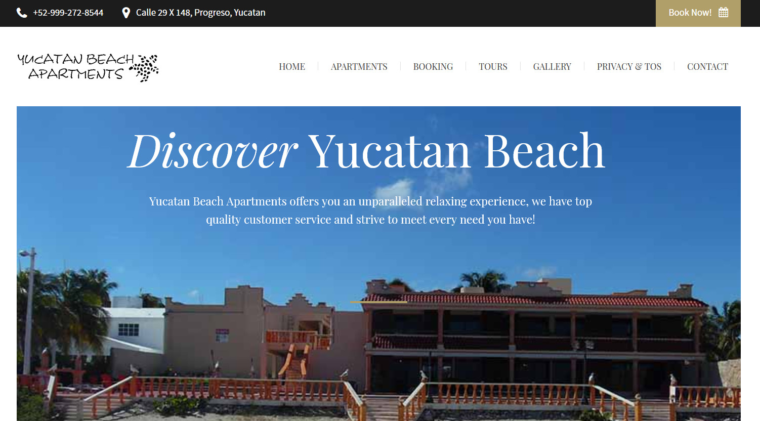 Yucatan Beach Apartment Rentals
